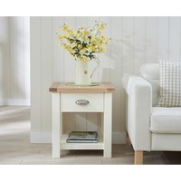 Read more about Somerset oak and cream side table