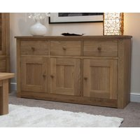 Product photograph showing Reno 160cm Oak Sideboard