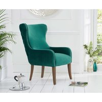 Read more about Laura green velvet accent chair