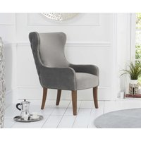 Read more about Laura grey velvet accent chair