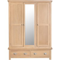 Product photograph showing Ruby Oak 3 Door Wardrobe