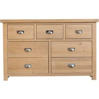 Read more about Ruby oak 3 over 4 drawer chest of drawers