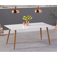Read more about Maida vale 180cm matt white dining table