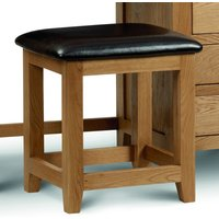 Read more about Marlborough oak & leather dressing table stool