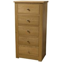 Read more about Reno oak 5 drawer wellington chest