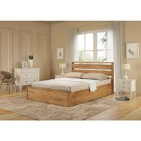 Read more about Modena solid oak super king size ottoman bed