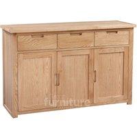 Merissa Oak 3 Door 3 Drawer Sideboard
