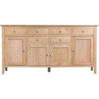Suri 4 Door 6 Drawer Oak Sideboard