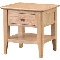 Read more about Suri oak lamp table