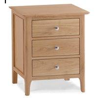 Read more about Suri oak 3 drawer bedside table