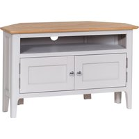 Read more about Diego oak and grey corner tv unit