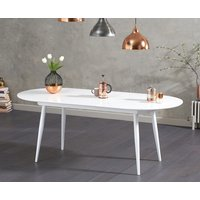 Read more about Olivia extending white high gloss dining table