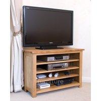 Read more about Othello oak corner tv unit