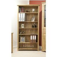 Product photograph showing Opus Oak Large Bookcase