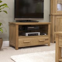 Read more about Othello oak tv cabinet