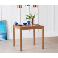 Oxford 80cm Solid Oak Dining Table