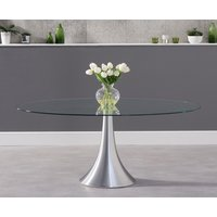 Read more about Petra 180cm oval glass dining table