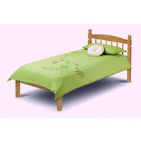 Product photograph showing Pickwick Solid Pine Single Bed