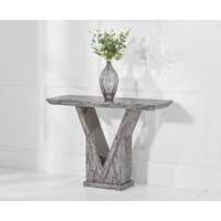 Read more about Mocha grey marble console table