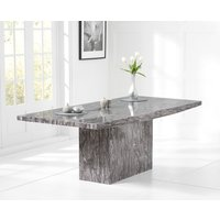 Read more about Crema 160cm grey marble dining table