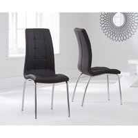 Read more about Calgary brown chairs -pairs-