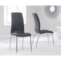 Calgary Charcoal Grey Chairs (Pairs)