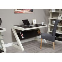Read more about Z painted desk with wenge oak top