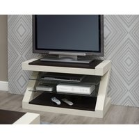 Read more about Z painted tv cabinet with wenge oak top
