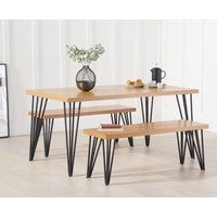 Rafino 160cm Dining Table and Benches
