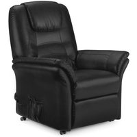 Read more about Riley black faux leather rise and recline chair