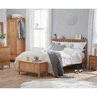 Suri Oak Single Bed