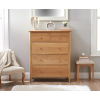 Read more about Suri oak large 2 over 3 chest of drawers