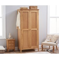 Read more about Suri oak two door wardrobe
