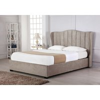 Read more about Sherwood stone fabric ottoman double bed