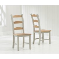 Read more about Somerset grey dining chairs -pairs-