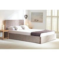 Sterling Stone Fabric Ottoman Small Double Bed