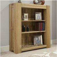 Product photograph showing Trend 105cm Oak Bookcase