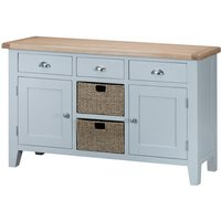 Read more about William 2 door 3 drawer oak and grey sideboard