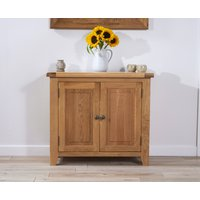 Read more about Yateley 90cm oak 2 door sideboard