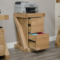 Read more about Z solid oak filing cabinet