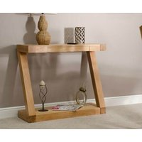 Read more about Z solid oak console table