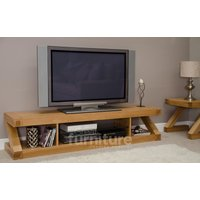Read more about Z solid oak 180cm tv unit
