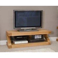 Read more about Z 120cm solid oak tv unit