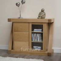 Read more about Z solid oak designer mini sideboard