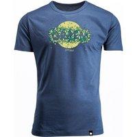 Bambus T-Shirt Green Leaves für Männer