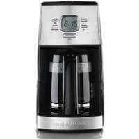 12-Cup Programmable Coffee Maker, Black (43254R)