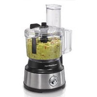 10-Cup Food Processor with Bowl Scraper, Black & Stainless (70730)