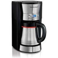 10-Cup Programmable Coffee Maker with Thermal Carafe, Black & Stainless (46896)