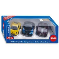 Siku Die Cast Sports Cars Set of 3