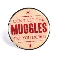Harry Potter Muggles Enamel Badge